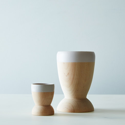 Small Wooden Planters (Set of 2)