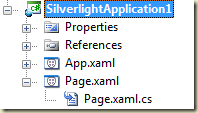 Initial Silverlight Project