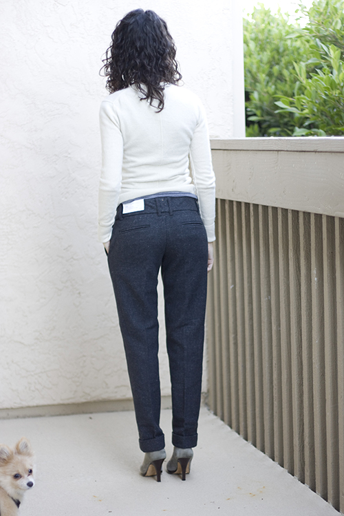 LOFT Petite Pants – Equestrian Wool Lean Trousers