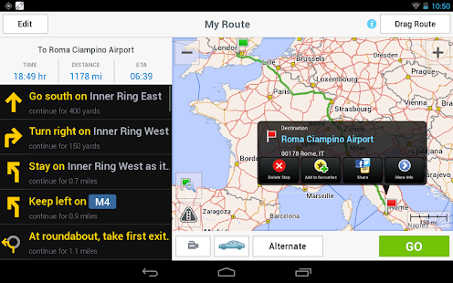 CoPilot GPS - Plan & explore! - screenshot thumbnail