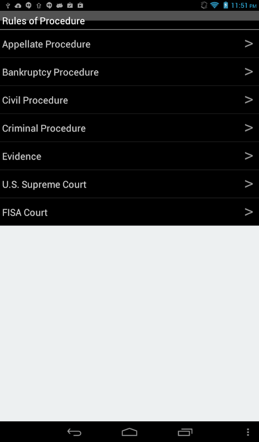 Federal Courts- screenshot