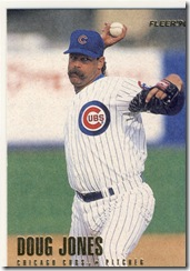 Mustaches Doug Jones Fleer 94