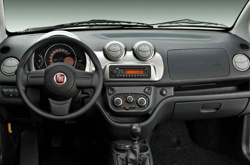 Interior of Fiat Uno