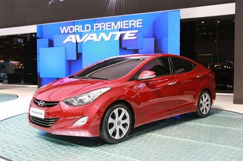 In South Korea debuted new Hyundai Elantra