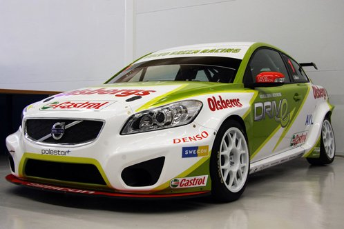 Volvo C30 have prepared for races