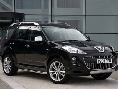 Tuning studio Irmscher has developed a sport package for Peugeot 4007