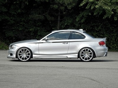 Tuners Hartge have finished BMW 1st series