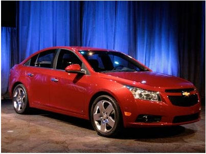Chevrolet Cruze is suspended