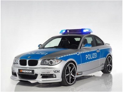 AC Schnitzer have created BMW for police