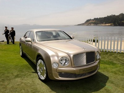 Bentley named the prices for sedan Mulsanne