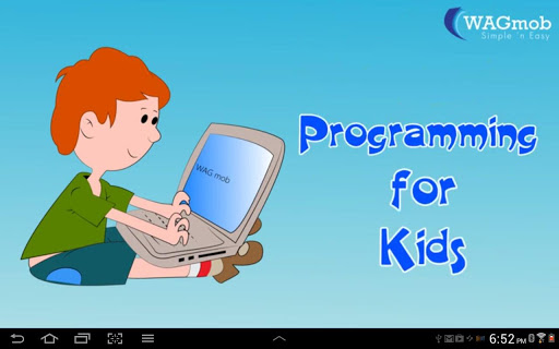 Programming For Kids by WAGmob
