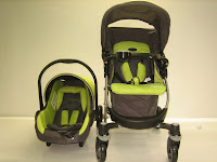 Pliko BS528 Alpina Travel System Baby Stroller