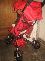 4 Kereta bayi JUNIOR 808 Quick Smart - easy fold