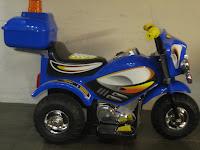 3 Motor Mainan Aki JUNIOR HL218 POLICE