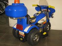 4 Motor Mainan Aki JUNIOR HL218 POLICE