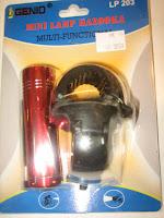 Lampu Depan GENIO COMPONENT LP 203 Mini Lamp  Bazooka