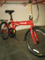 3 Sepeda Lipat FOLD-X TURBO Suspension 20 Inci