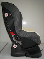 4 Baby Car Seat PLIKO PK702B with Extra Seat Pads