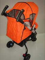 4 Kereta Bayi BABYDOES 380 REXX Roda Tiga