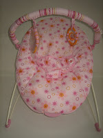 2 Baby Bouncer BRIGHT STARS PRETTY IN PINK