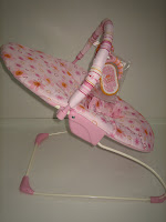 4 Baby Bouncer BRIGHT STARS PRETTY IN PINK