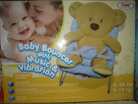 1 Baby Bouncer CARE WHIMPY ELEPHANT
