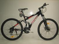 1 Sepeda Gunung ELEMENT AMS Full Suspension