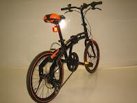4 Sepeda Lipat DOPPELGANGER 202 BlackMax