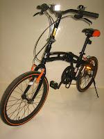 3 Sepeda Lipat DOPPELGANGER 202 BlackMax