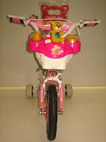 3 Sepeda Anak AXXIL Happy  Sandaran 12 Inci