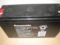 Aki Panasonic 6 Volt 12AH