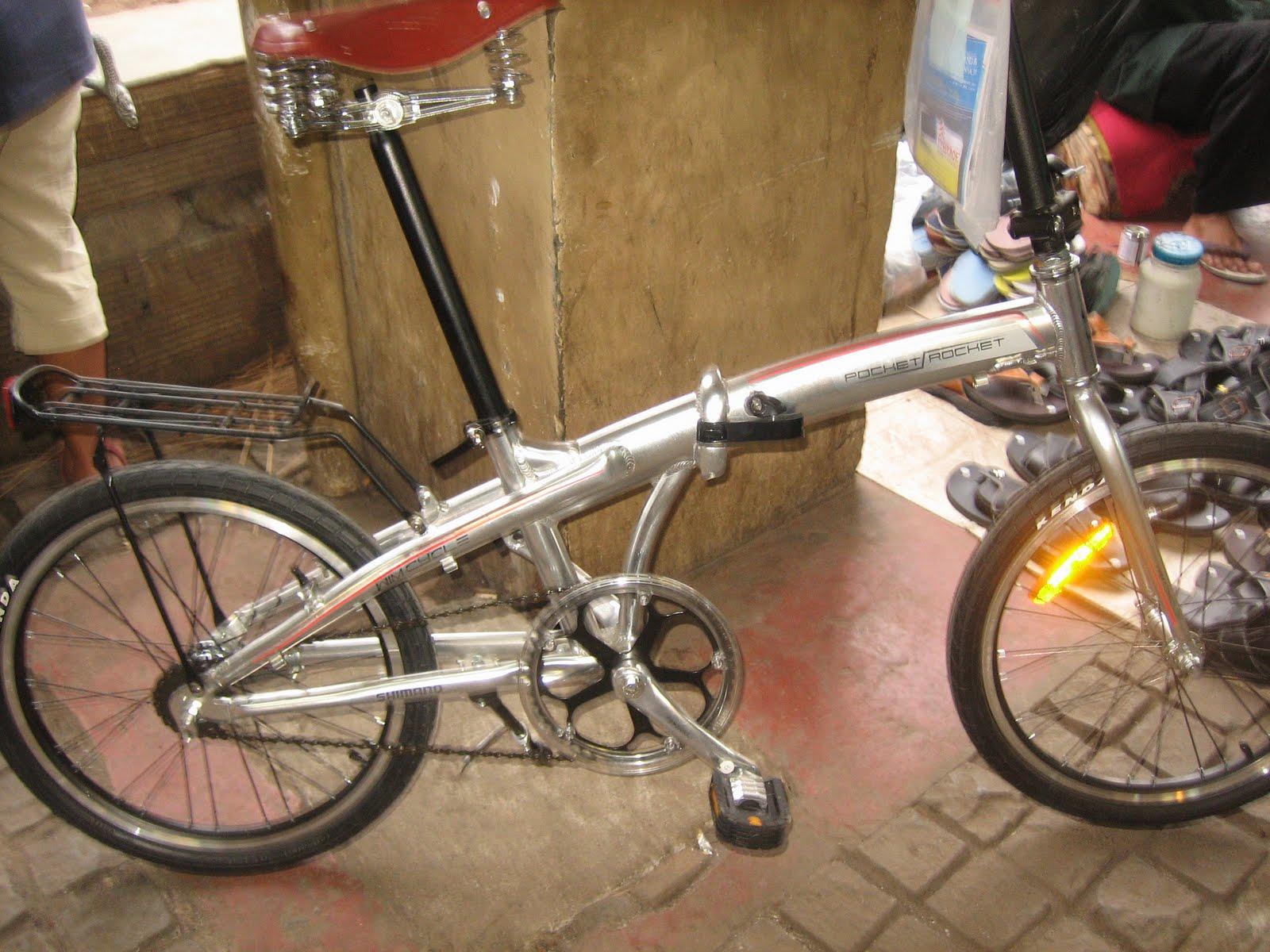 tokosarana™ | Mahasarana Sukses™: Modifikasi Sepeda Lipat