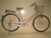 1 City Bike EVERBEST Kunci Setang dan Lampu Sen 26 Inci