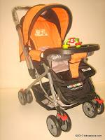 Kereta Bayi CREATIVE BABY BS218 CLASSIC