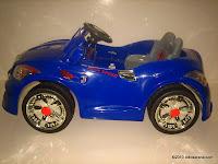 3Mobil Mainan Aki DOESTOYS DT87 BUICK - 2 Kursi