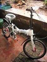 2 Sepeda Lipat ELEMENT CONCEPT Suspension 20 Inci