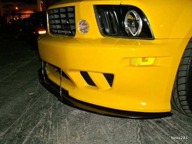 ATTN: All S197 Saleen Owners! Front Splitter Application