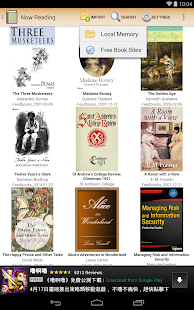 ePub Reader for Android- screenshot thumbnail