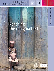 Cover of the EFA Global Monitoring Report 2010