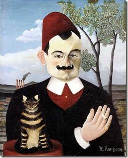 Portrait of Pierre Loti 1905-06 Henri Rousseau