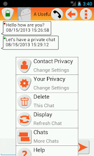 Text Message Privacy- screenshot thumbnail
