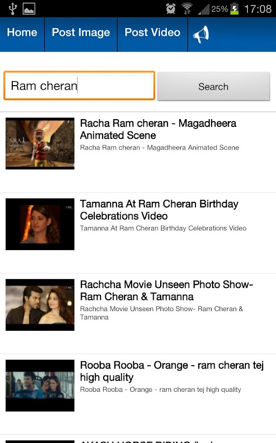 Ram Charan Fans - screenshot