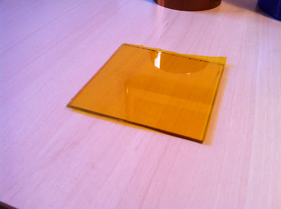 Applying Kapton Tape Without Bubbles