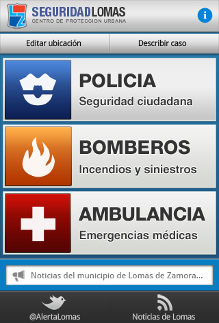 Seguridad Lomas - screenshot