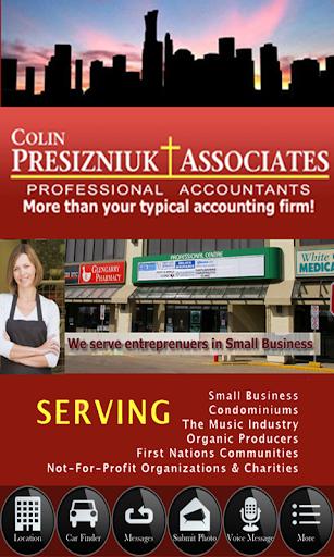 Colin Presizniuk and Associate