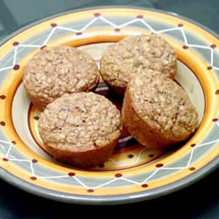 Date Oat Muffins.
