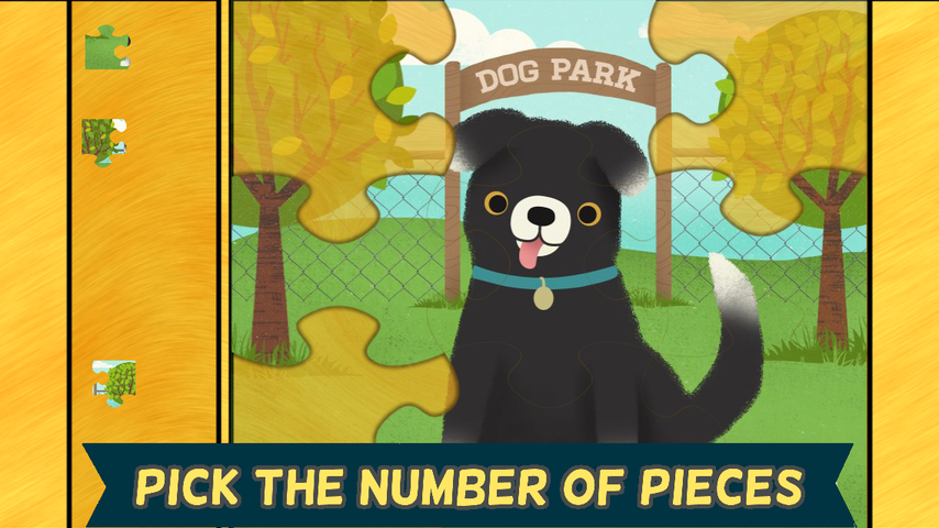 Pet Games for Kids- Puzzles- screenshot