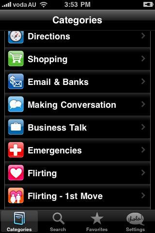 Lingopal Brazilian Portuguese - screenshot