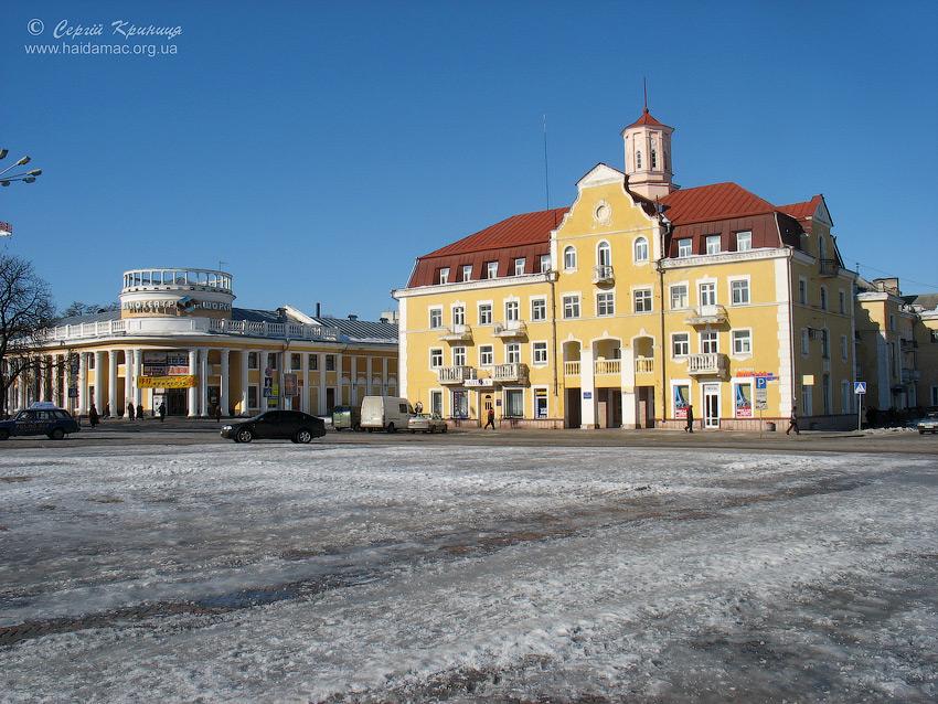 центр міста Червона площа