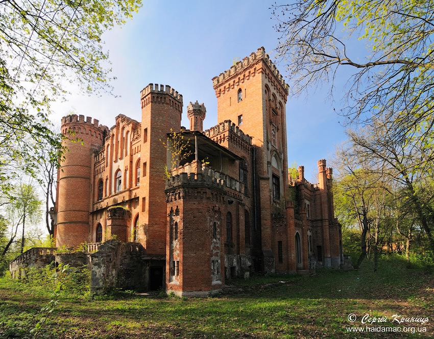 палац Даховських у Леськовому